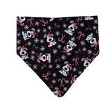 Christmas Dog Bandana Candy Cane