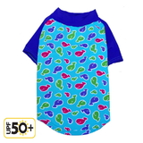 Dog Rash Shirt Little Whales 50+