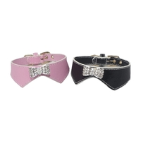 Dog Collar Rhinestone Bow