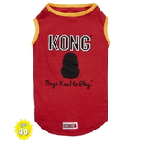 Dog T Shirt Kong Red Sunsafe