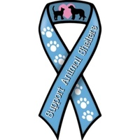 Animal Shelters Ribbon Dog  Magnet
