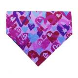 Dog Bandana  Pink Hearts