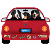 Bernese Dog Magnet Pupmobile