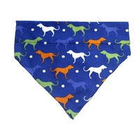 Dog Bandana Blue Hounds