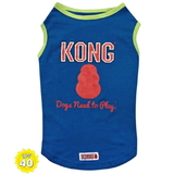 Dog Singlet KONG Blue 40+