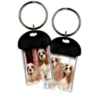 Cocker Spaniel LED Keyring