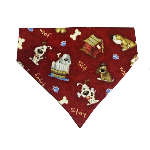 Dog Bandana Red Rover