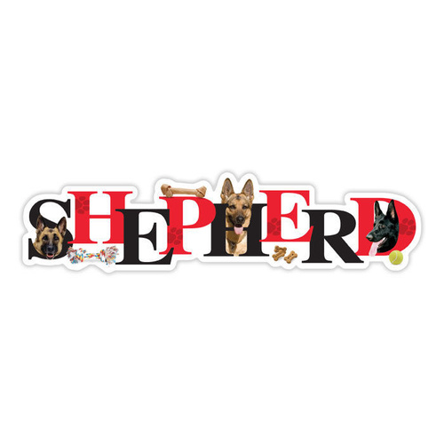 German Shepherd Alpha Magnet