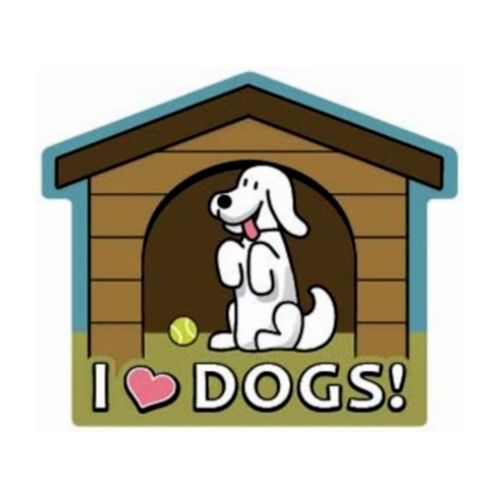 Dog House  Magnet