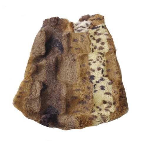 Dog Coat Faux Fur
